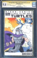TMNT / Ninja Turtles - Steve Lavigne Shredder w/ Technodrome Comic Art