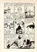 Manny Stallman, Witches Tales #23 pg 5 Comic Art