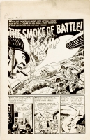 Manny Stallman, War Battles #7 pg 1 Comic Art