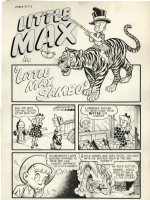 Warren Kremer,  Little Max Sambo  pg 1 Comic Art