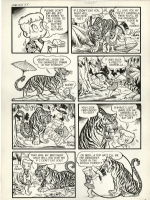Warren Kremer,  Little Max Sambo  pg 3 Comic Art