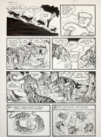 Warren Kremer,  Little Max Sambo  pg 5 Comic Art
