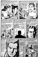 Black Cat Mystery #49, page 4 Comic Art