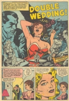 Teen-Age Brides #4 - Manny Stallman & John Giunta - pg 1 pre-Code Comic Art