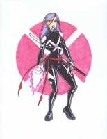 Psylocke [a1] Comic Art