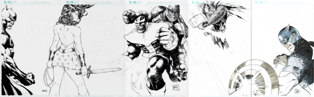 Avenging Justice Jam Pt. 3 - Heroes Con 2015 Comic Art