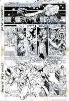Fury of Firestorm #27 Page 02   Firehawk Comic Art
