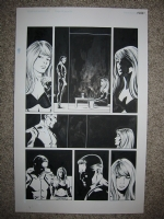 New Avengers issue 3 page 8 Comic Art