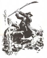 Solomon Kane by Thomas Yeates Comic Art