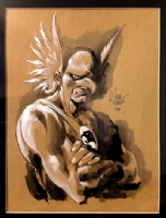 Hawkman by Joe Kubert Comic Art