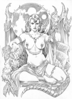 Torque, Elizabeth - The Incomparable Dejah Thoris Comic Art