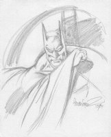 Garcia Lopez - Batman FallCon sketch Comic Art