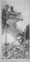 Raymond, Alex - Look Magazine Oct. 20, 1942 Pencil Preliminary No. 1 Comic Art