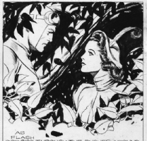 Alex Raymond Comic Art