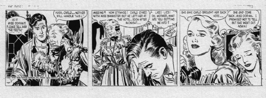 Raymond, Alex - Rip Kirby Daily Strip for 7-15-48 Comic Art