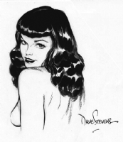 Dave Stevens - Cliff's Betty Comic Art