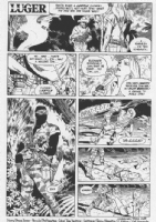 Luger #3 page 1 Comic Art