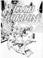Al Williamson - Flash Gordon #1 cover Comic Art