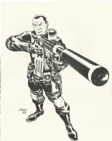 Dave Johnson Punisher - 2015 Comic Art
