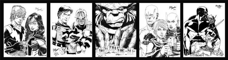 Guardians of the Galaxy by Brad Walker Comic Art