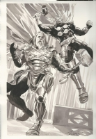 Allfather Thor & Beta Ray Bill by JK Woodward Comic Art