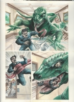 Dinosaurs Attack by JK Woodward Comic Art