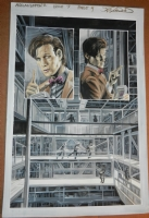 ST:TNG/Doctor Who - Assimilation2 (squared) Issue 7, Page 4 Comic Art