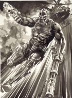 Darklon from G.I. Joe Comic Art