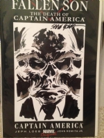 Red Skull by Steve Epting Comic Art