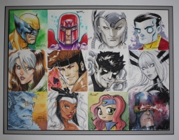 X-Men Jam Piece Comic Art