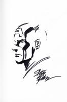 Captain America - Steve Epting Comic Art