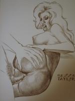 NSFW Taylor Pinup Comic Art