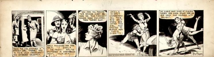 tarzan 1942 Comic Art