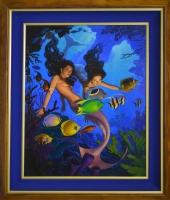 Mermaids Comic Art