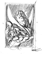 Deadman: Dead Again #1 Cover Prelim - Dead Flash . Author : Jos� Garcia-Lopez Comic Art