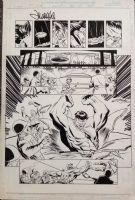 Sold! - Hulk Annual 1999 p23     11 x 17 Comic Art