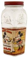 Mickey Mouse Jam Jar Bank Comic Art
