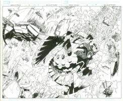 Guardians of Galaxy #22 Comic Art