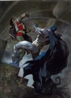 Scott Hampton - BATMAN MASTER SERIES Comic Art