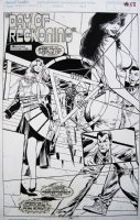 S. Clarke Hawbaker / Dave Hoover - Namor Annual #1 Splash Comic Art