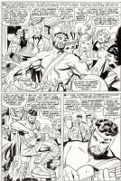 Jack Kirby - Journey into Mystery #125 (Hercules/Thor) Splash Comic Art