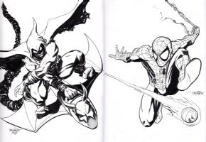 Hobgoblin Vs. Spider-Man by Scott Dalrymple Comic Art