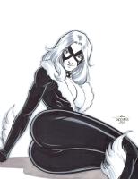 Black Cat by Scott Dalrymple Comic Art