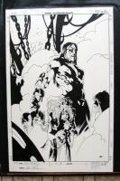 KEV WALKER * THE ETERNAL #2 COMIC BOOK COVER ART Comic Art