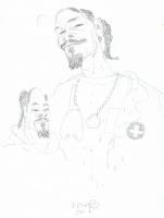 Dave Cooper * Snoop Dog * Calvin Cordozar Broadus, Jr, Comic Art