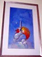 JEFFREY JONES * TOWER OF THE MEDUSA COVER, Comic Art