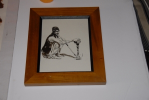 George Pratt Hookah * Water Pipe * Watercolor Art, Comic Art