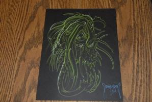 Mike Dubisch Cthulhu Elder Gods Art #3 Comic Art