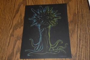 Mike Dubisch Cthulhu Elder Gods Art #5 Comic Art
