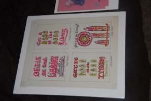 Frank Kelly Freas - Library Poster Preliminary Art Comic Art